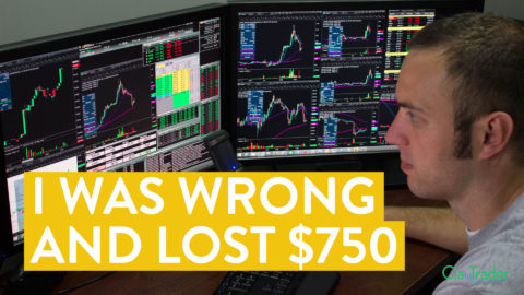 [LIVE] Day Trading | I Was Wrong and Lost $750 (Day Trader Truths...)