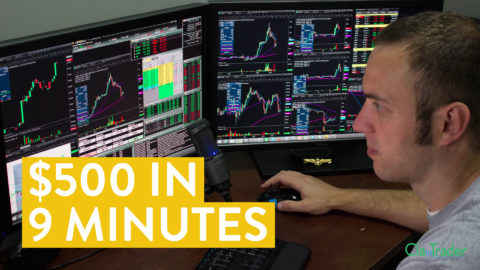 [LIVE] Day Trading | $500 in 9 Minutes. Here's How...