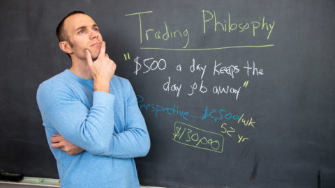 "If you are new to the stock market and just getting started, you may not realize how important the mental aspect of day trading is. Your mindset as a trader is going to have a direct impact on how successful you are in making money as you trade stocks. I want to share with you my personal trading philosophy and mindset that helps keep me grounded in reality and forces me to keep a positive perspective. In this day and age of social media, it can become very easy to fall into the ""I'm not good enough"" pits that exist. However, when you take a step back and use a mindset that can force you to look at the positive side of your trading results, it will truly help you avoid the pits that exist. If you want to have success as a day trader, then you need a mindset and philosophy that will keep trending higher!"