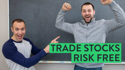 How To Trade Stocks Risk Free (Use This Trading Strategy!)