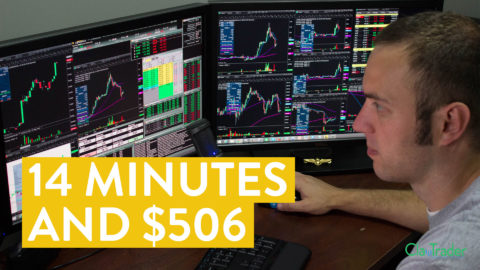 [LIVE] Day Trading | 14 Minutes and $506 in Profit (all online)