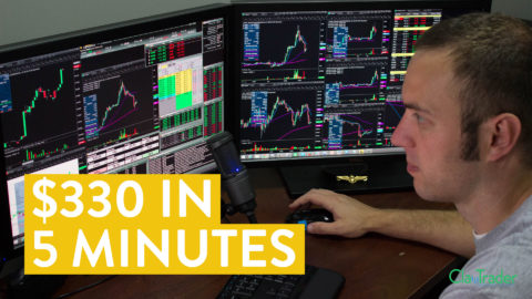 [LIVE] Day Trading | $330 in 5 Minutes (Learning About Risk Tolerance)
