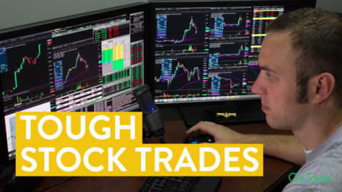 [LIVE] Day Trading | Tough Stock Trades in Rough Waters