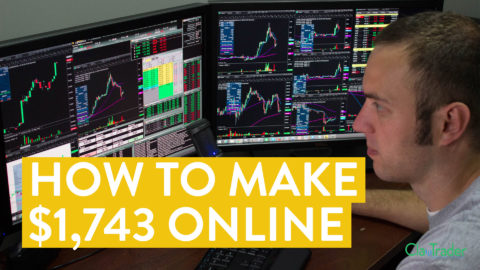 [LIVE] Day Trading | How to Make $1,743 Online (Stock Market Power!)