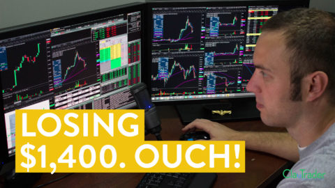 [LIVE] Day Trading | Losing $1,400. Ouch! (Day Trader Truth)