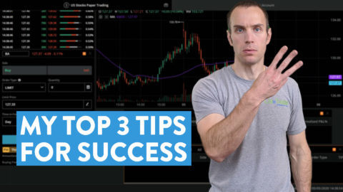 How to Practice Trading: My Top 3 Tips For Success