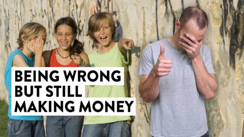 Being Wrong BUT Still Making Money (Trading Strategy Tip)