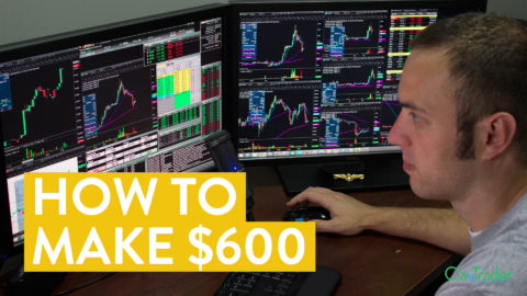 [LIVE] Day Trading | How to Make $600 on a Monday Morning (in only 1 hour)