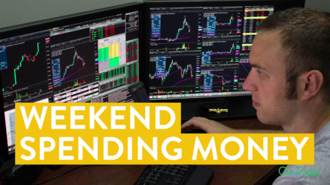 [LIVE] Day Trading | How I Make Spending Money for the Weekend (learn to trade!)