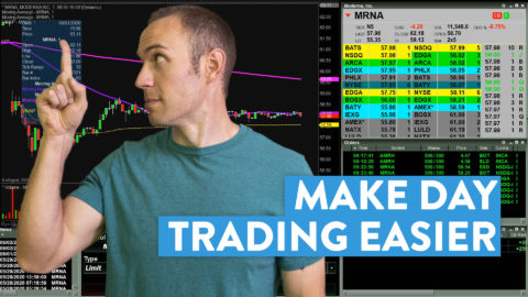 I Do This to Make Day Trading Stocks Easier for Myself [Proven Method]
