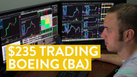 [LIVE] Day Trading   I Made $235 in 1 Hour with Boeing (BA) Stock... here's how...