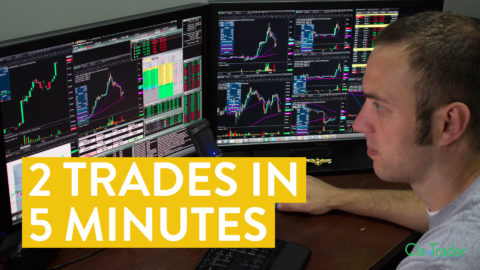 [LIVE] Day Trading | 2 Stock Trades Lasting Less Than 5 Minutes (Did I Make Money?)