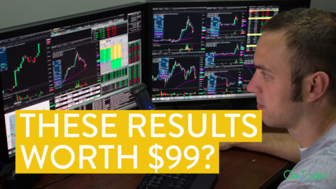 [LIVE] Day Trading | Stock Trade Results (Worth $99 to Join Service?)