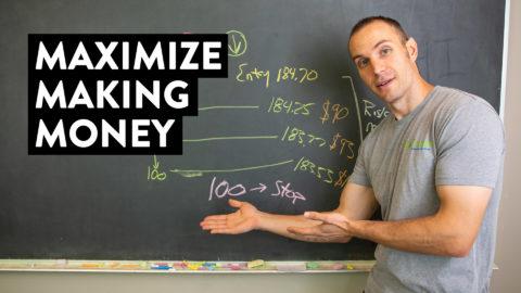 How I Maximize Making Money While Minimizing Risk (Day Trader Strategy)