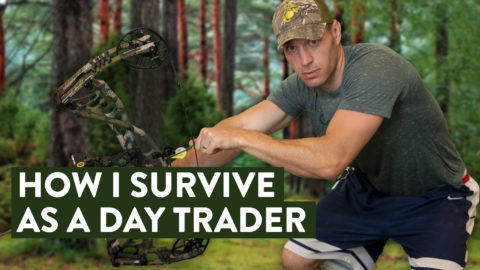 I Survive as a Stock Day Trader by Doing This... (real life results/proof)