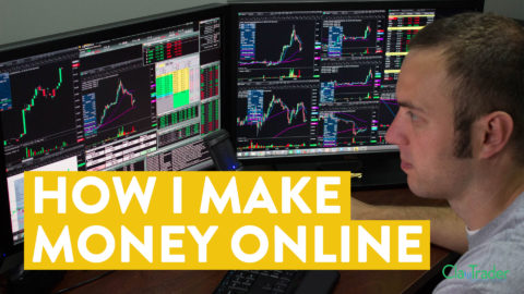 [LIVE] Day Trading | I Made $350 in 5 Minutes (How I Make Money Online)