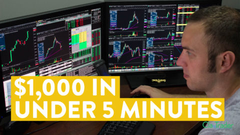 [LIVE] Day Trading | How to Make Over $1,000 in Under 5 Minutes...