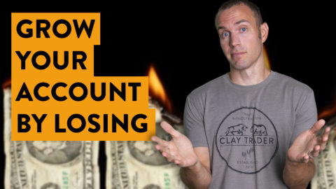 How to Grow Your Trading Account by Losing Money [let me explain...]
