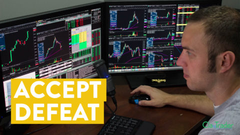 [LIVE] Day Trading | Accept Defeat and Control the Hole (Day Trader Tips)