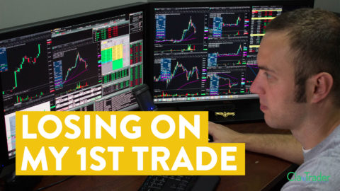 [LIVE] Day Trading | Losing Money on My 1st Trade... (not fun!)