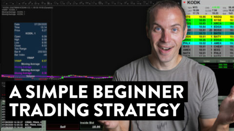 A Simple Trading Strategy for Beginner Day Traders [with proof...]