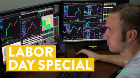 [LIVE] Day Trading | Labor Day Stock Trade Special! (if you're in withdrawal...)