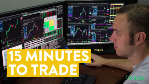 [LIVE] Day Trading   I Only Had 15 Minutes. Could I Make Money?