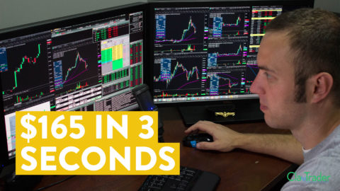 [LIVE] Day Trading   I Made $165 in 3 Seconds (here's how...)