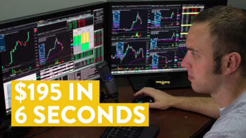 [LIVE] Day Trading | $195 in 6 Seconds... Then What?