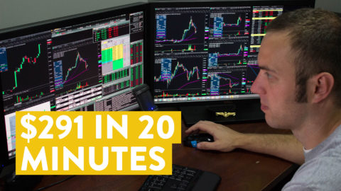 [LIVE] Day Trading | How I Made $291 in 20 Minutes