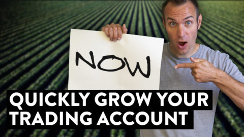 How to Quickly Grow Your Trading Account Right Now...