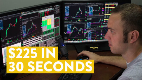 [LIVE] Day Trading | How I Made $225 in 30 Seconds