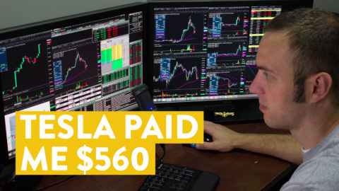[LIVE] Day Trading | Tesla Paid Me $560 in 1 Minute (Here's How...)