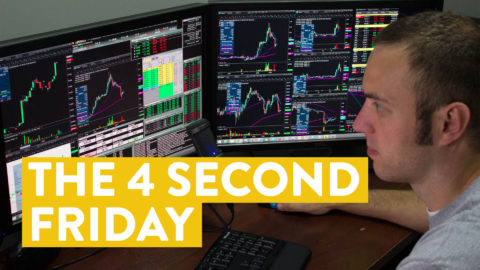 [LIVE] Day Trading | The 4 Second Friday (How I Made $295)