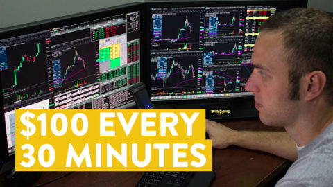 [LIVE] Day Trading | Making $100 Online Every 30 Minutes