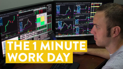 [LIVE] Day Trading | The 1 Minute Work Day!