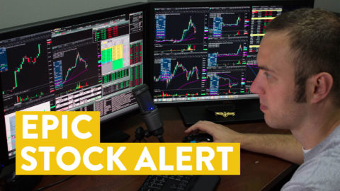 [LIVE] Day Trading | Epic Stock Alert and a Battle with THE Voices...