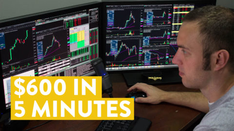 [LIVE] Day Trading | $600 in Under 5 Minutes? Yes Please!