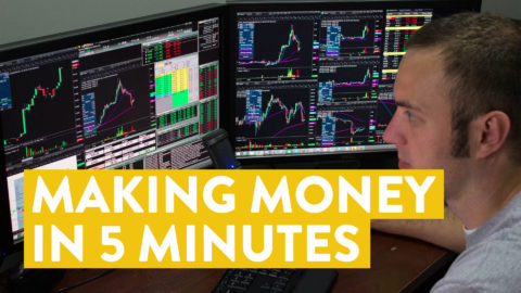 [LIVE] Day Trading | How Much Money Can You Make in 5 Minutes Online?