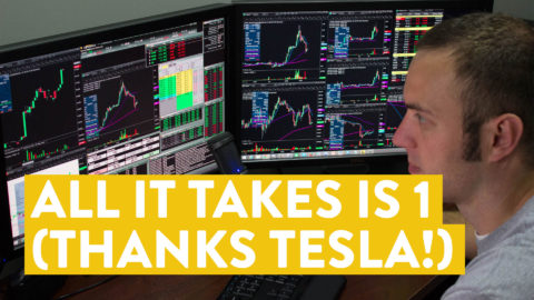[LIVE] Day Trading | All It Takes is 1 (Thanks Tesla!)