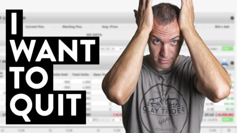 I Want to Quit Day Trading Stocks... (so hard!)