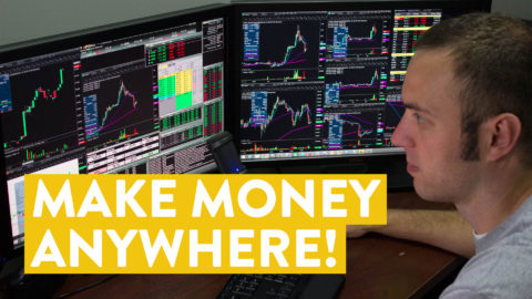 [LIVE] Day Trading | Make Money Anywhere! (side hustle idea)