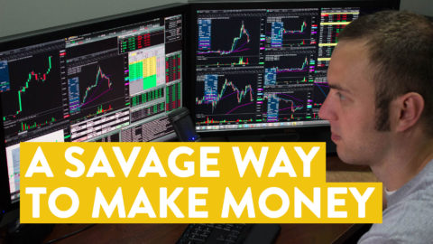 [LIVE] Day Trading | A Savage Way to Make Money