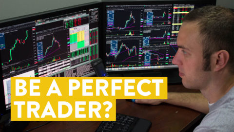 [LIVE] Day Trading | Be a Perfect Trader? Not Needed!