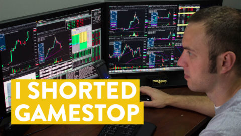 [LIVE] Day Trading | I Shorted GameStop (GME). My Results...
