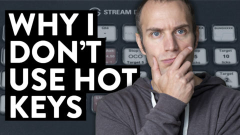 One of the more talked about topics in the world of being a stock day trader revolves around hot keys. How should you set them up? Should you use them? In what way is it best to use them? There are many opinions out there on the matter and people often times question me about my day trading hotkey management strategy. Well, as a day trader, I do not use hotkeys. For some I realize this seems like a crazy decision and one that is ill advised, but I want to explain to you why I do not use hotkeys as a stock trader. Let me be very clear about this. In no way am I saying that you must follow my thoughts or do what I personally do. We are all different as traders and must use methods that best fit our personal risk tolerance and strategies, but for me, not using hotkeys has helped me the most. Let's talk about how hotkeys can work and be either an efficiency tool or an opportunity grabber.