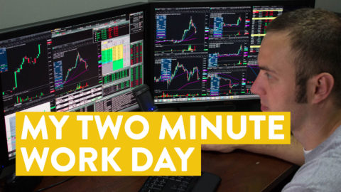 My 2 Minute Workday in the Stock Market