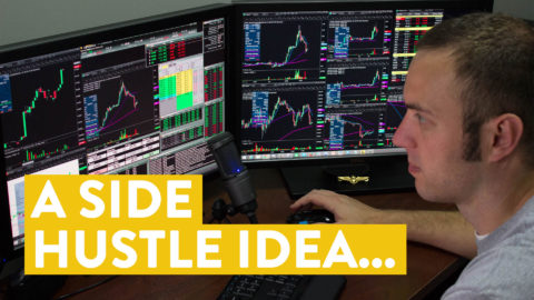 [LIVE] Day Trading | A Side Hustle Idea... ($500 in 9 Minutes)