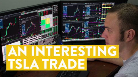 [LIVE] Day Trading | An Interesting TSLA Stock Trade...