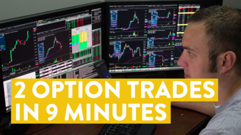 [LIVE] Day Trading | 2 Option Trades in 9 Minutes